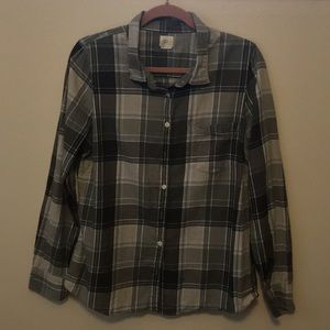 J. Crew Flannel Button Up
